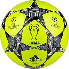 adidas Capitano Finale UCL Berlin 2015 Soccer BALL Yellow / Black / Silver New