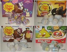 3D TOYS MY LITTLE PONY/DRAGON/MASHA/ANGRY BIRDS FROM CHOCOLATE BALLS EGG