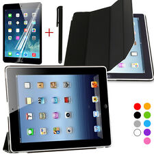 Afford Slim Magnetic Leather Smart Cover For APPLE Ipad2/3/4 with Hard back case