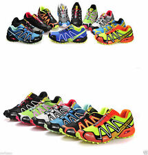 NEW 2014 Men's Salomon Speedcross 3 Outdoor Running Sports Shoes 14Colour