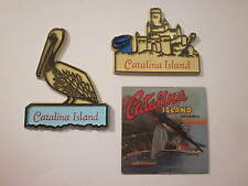 "CATALINA ISLAND MAGNETS BEAUTIFUL COLLECTIBLES ""1"" SOUVENIR 3 VARIATIONS AVALON"
