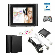6th Gen Mp3 Mp4 1.8in LCD Screen FM Radio Games Video Player 2/4/8/16GB SD TF