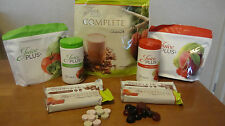 Juice Plus! capsules, chewables, chocolate or vanilla shake + meal bars