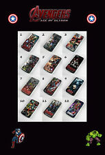 AVENGERS 2 AGE OF ULTRON PHONE CASES FOR IPHONE 4 4S 5 5S 5C & 6 MARVEL HULK
