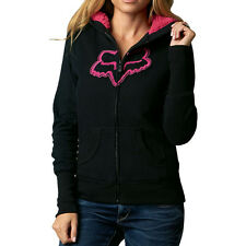 Fox Racing Interface Sherpa Womens Zip Hoody Black
