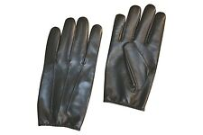 MENS LEATHER POLICE STYLE SEARCH DRIVING GLOVES UNLINED NEW ALL SIZES XS TO 3XL