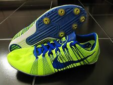 NIKE Zoom VICTORY 2 II Track Field Spikes Cleats Shoes Blue Volt Gold MANY SIZES