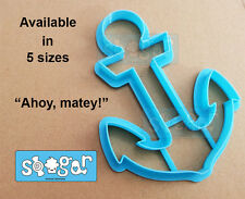 Anchor 101 Cookie & Fondant Cutter Cake Decorating Pirate Nautical Baby Theme