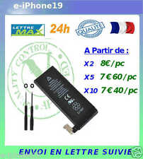 Battery for iphone  4 or 4s Batterie  iphone 4 ou 4S  (3,7 V) LOT REVENDEUR