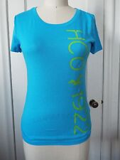 Hollister HCO 1922 Short Sleeve Scoop Neck T-Shirt Turquoise XS, S, M, L NWT