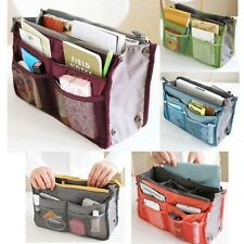 Unisex Travel Insert Handbag Organizer Purse Large Liner Tidy Bag Pouch F tablet