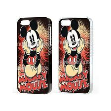 Disney Mickey Mouse Retro Poster Cartoon Funda Para Iphone Ipod Samsung Galaxy