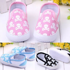 Infant Toddler Baby Boy Girl Soft Crib Anti-slip Skull Confortable Sneaker