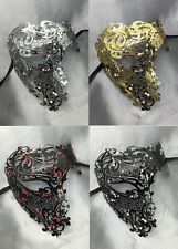 Phantom of the Opera Inspired Womens Mens Laser Cut Venetian Masquerade Mask