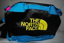 THE NORTH FACE BASE CAMP DUFFEL BAG BLACK YELLOW S M L CARRY ON WATER RESISTANT