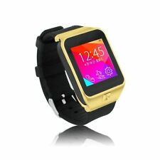 "1.54""Touch screen GSM WristWatch Cell Phone Bluetooth Sync For Smart Android PDA"