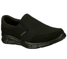 Skechers EQUALIZER-PERSISTENT Men's Walking Shoes BLACK 51361 BBK
