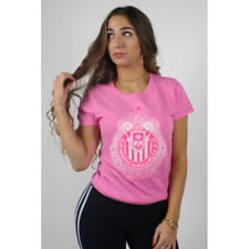 Chivas Rayadas Guadalajara Hot Pink Ladies Classico Campeon Copa MX Shirt 2016