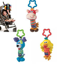 HOT!Kids Baby Soft Animal Handbells Rattles Bed Stroller Bells Developmental Toy