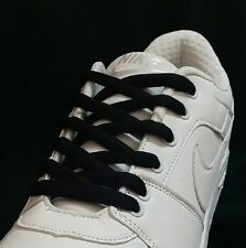 ON SALE DUNK SB LOW BLACK   LACES SHOELACE MADE IN TAIWAN US