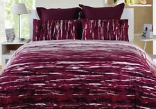 Paxton & Wiggin OASIS Fuchsia Cotton Quilt Doona Cover Set  DOUBLE QUEEN KING