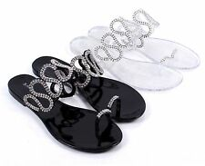 2 Color Fashion Ladies Flip Flops Casual Sexy Rhinestone Womens Sandals Shoes