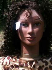 Gorgeous Kinky Curl Inidan Remy Full Lace Wig From S & A Beauty Supply