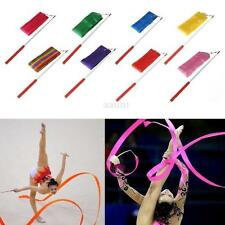 Dancing Ribbon Streamer Gym Rhythmic Rod Art Gymnastic Ballet Twirling Stick 4M