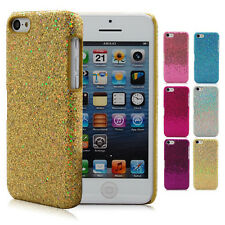 Bling Luxury Gold Glitter Shinning Crystal Hard Case Cover For Apple iPhone 5C