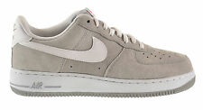 "Nike Air Force 1 ""Suede Pack"" Men's Shoes Wolf Grey/White 488298-065"