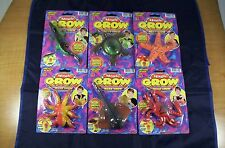 Magic Mega Grow Toy Drop In Water Grows 600% Jaru Ages 4+ New Free Shipping