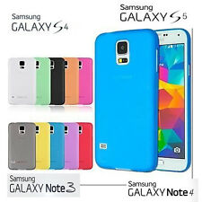 COQUE POUR SAMSUNG GALAXY S4 S5 - NOTE 3 4 10 COLORIS DIFFERENTS NEUF