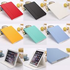 Simple Filp 360 Rotating PU Leather Case Cover Stand for iPad Air 2/6 Mini 1/2/3