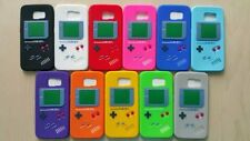 3D Retro Game Boy Pattern Silicone Rubber Back Case Cover For SamSung Galaxy S6