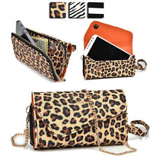 Wild Trim Protective Wallet Case Cover & Crossbody Clutch for Smart-Phones MUS10