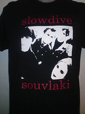 SLOWDIVE SOUVLAKI TSHIRT creation records my bloody valentine ride ALL SIZES