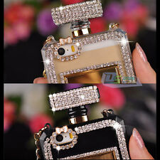 """Bling Crystal Diamond Perfume Bottle Case Cover For iPhone 4 5/5s 6 4.7"""" 6 plus"""