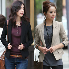 CHEAP Fashion Womens Casual Slim FIt One Button Blazer Coat Jacket Formal Suits
