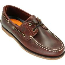 Timberland Classic Boat 2-Eye Rootbeer Smooth 25077