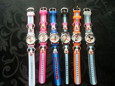 mickey/minnie mouse 3D kids watch