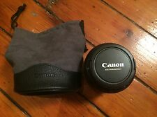 Canon EF 85 mm F/1.2 L II USM Lens in Excellent Condition