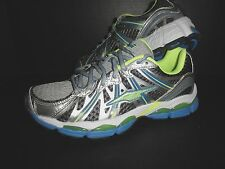 NEW Mens Avia Athletic Training Running Sneakers Shoes: Silver/Green/Blue