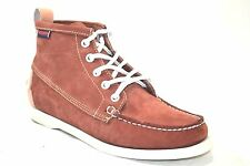 Sebago Beacon Dockside Siena Nubuck Womens Casual Lace Up Ankle Boots 48406