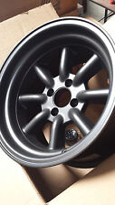 Rota Wheels RKR 15x9 (4x100 + 0mm 67.1 Hub) Magnesium Black Brand  NEW 4 Wheels