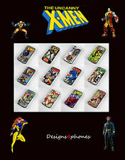 NEW X-MEN PHONE CASES FOR IPHONE 4 4S 5 5S 5C & 6 6+ MARVEL WOLVERINE COMICS