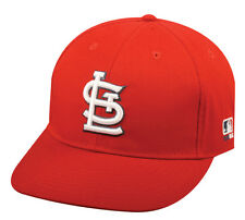 MLB ST. LOUIS CARDINALS Baseball HOME CAP Red HAT Velcro STRAP, YOUTH, ADULT
