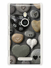 GRÜV Case Cover Stone Hearts for Nokia Devices