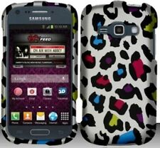 COLORFUL LEOPARD Snap-On Cover for Samsung Galaxy Ring / Prevail 2 II SPH-M840