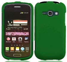 GREEN Snap-On Cover for Samsung Galaxy Ring / Prevail 2 II SPH-M840