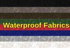 "Waterproof outdoor Soft Solid Canvas Denier fabric 60"" wide sold BTY"